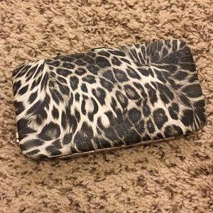 Handbags - Snow Leopard print Wallet